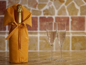 Fresh wine porta bottiglia termico